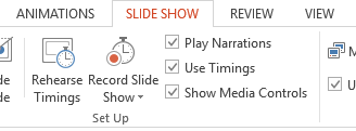 How to record slide show power point