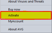 How to Activate avg