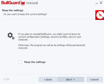 how to reinstall bullguard