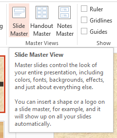 how to change slide master Handout  master & Notes Master in powerpoint