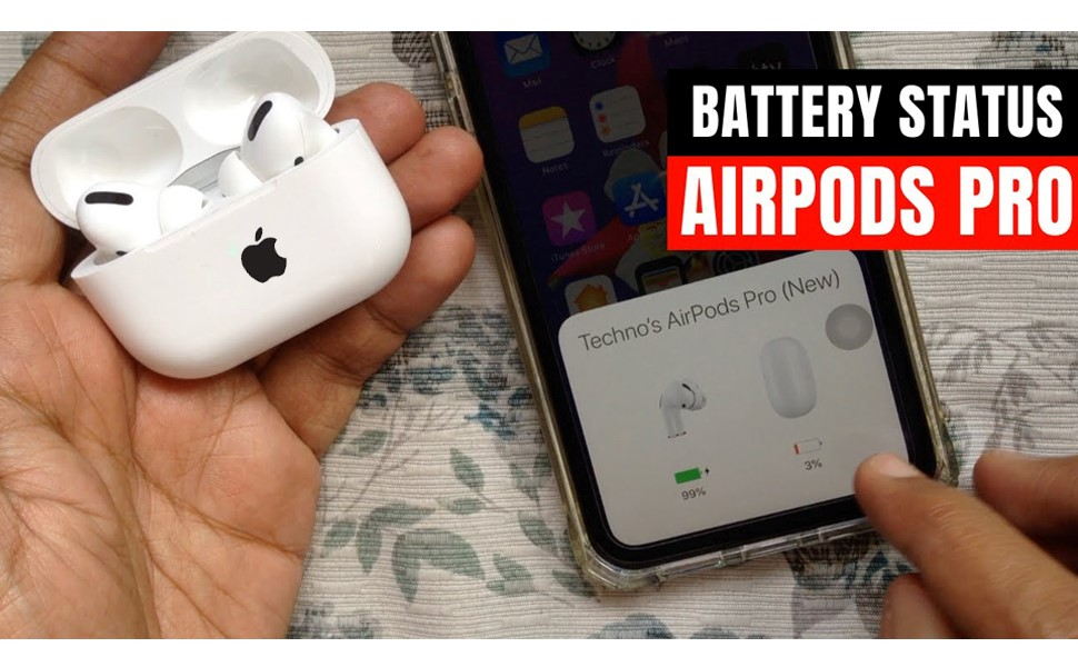 How to Check AirPods Battery