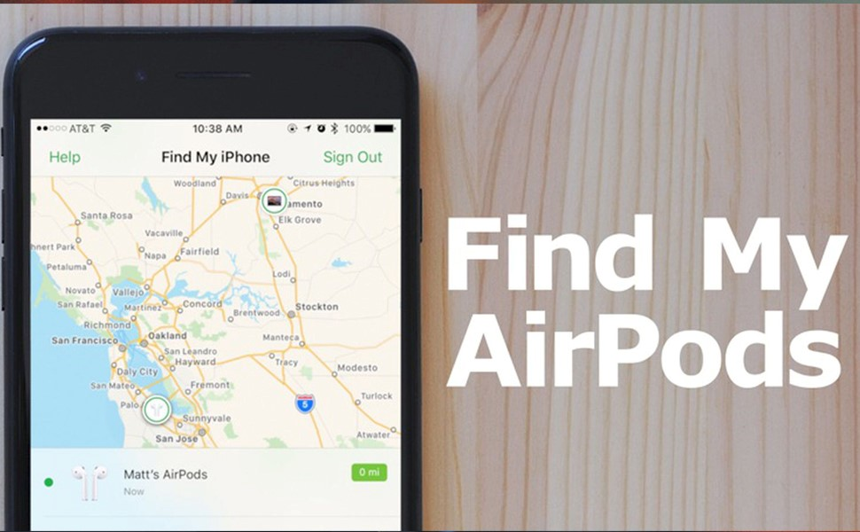 How to Find Airpods Map