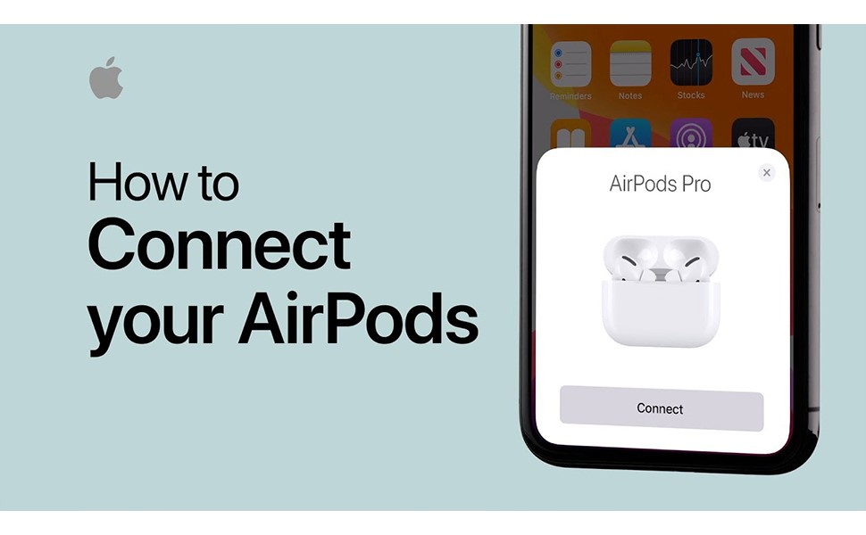 How To Connect your Airpods