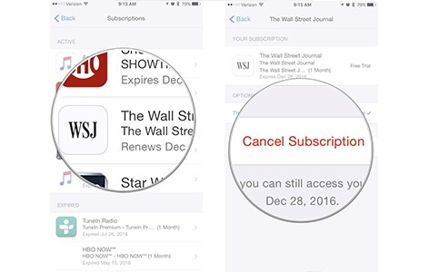 How to Cancel Subscription